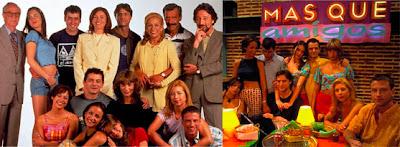 Fotos del reparto de la serie Más que amigos de Telecinco