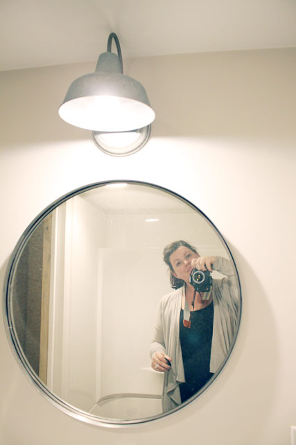 Basement Bathroom   Installation Of Ikea Vanity Part 36
