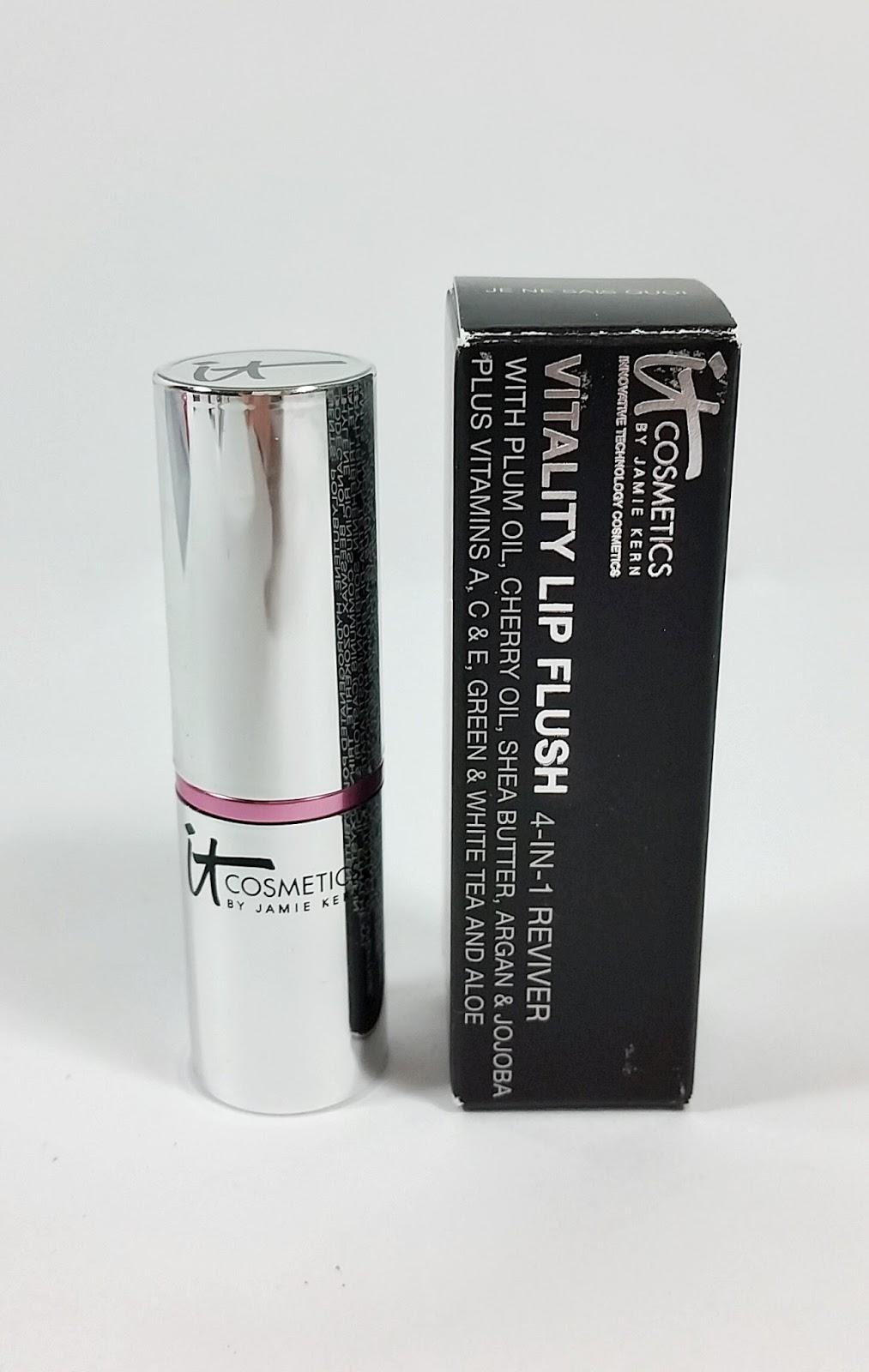 it cosmetics vitality lip stain je ne sais quoi review