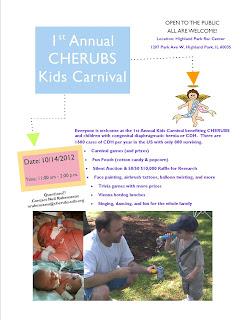 The Chicago CHERUBS Kids Carnival