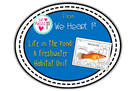 http://www.teacherspayteachers.com/Product/Life-in-the-Pond-A-Freshwater-Habitat-Unit-1217929