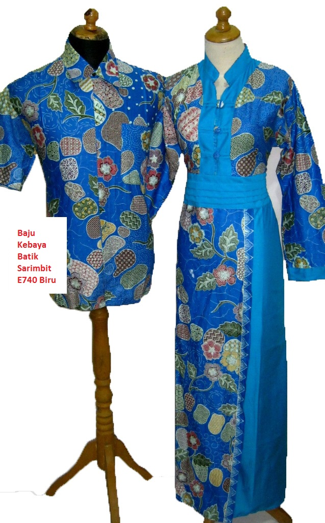 Download Image Baju Kebaya Batik Sarimbit Biru Jogja Shops PC Android