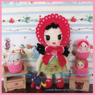 Free Onigiri Couple Amigurumi Crochet Pattern By Handmadekitty : HandmadeKitty: Boomii Doll Amigurumi Crochet Pattern by ...