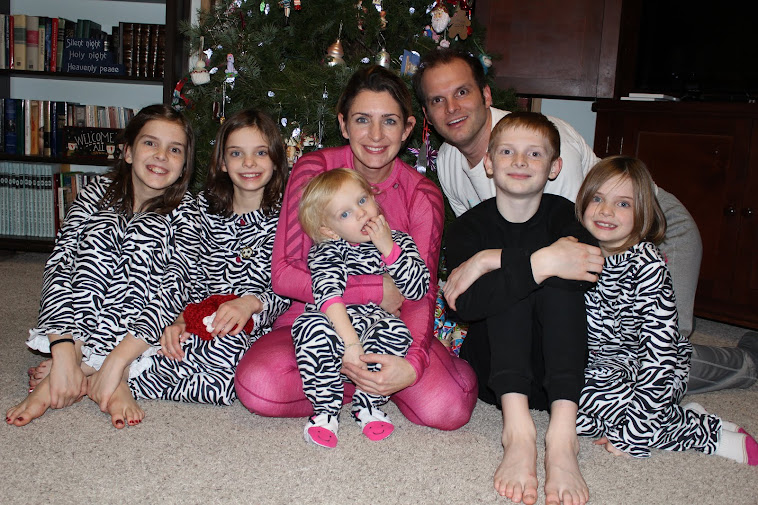 Christmas Eve Family Picture 2012