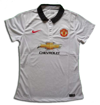 Jersey Ladies Manchester United Away 2015