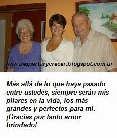 Gracias a la unión de nuestra madre y de nuestro padre, tenemos VIDA