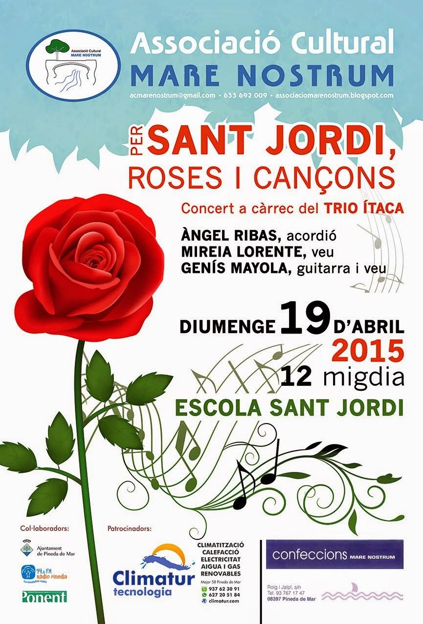 CONCERT PER SANT JORDI ROSES I CANÇONS