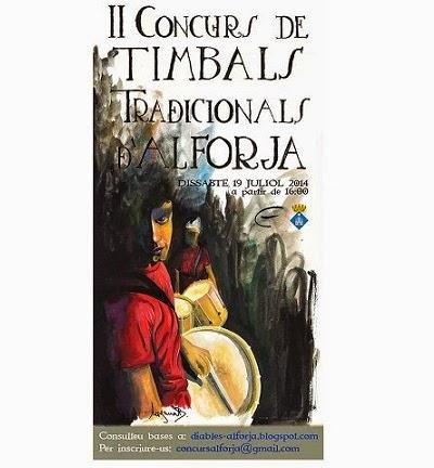 Concurs timbals tradicionals Alforja