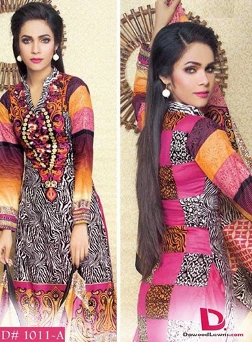 Dawood Jami Cambric Collection 2014