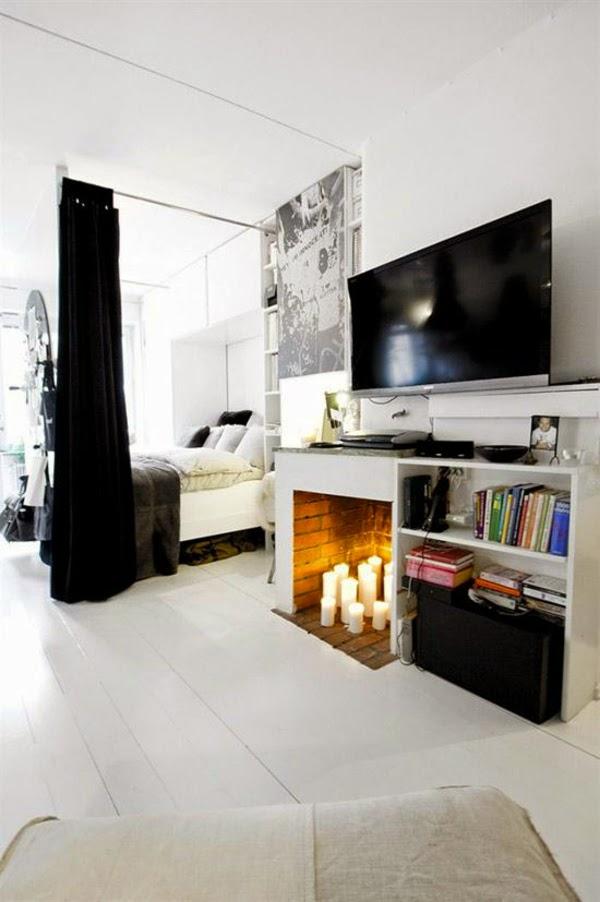 10 ideas para separar ambientes colores en casa - Dividir ambientes ...