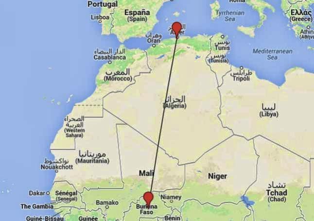 se estrella el avion desaparecido con destino a Argel