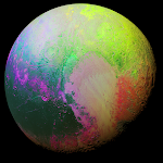 New Horizons Scientists Present Psychedelic Pluto