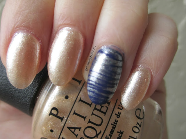 OPI Up Front & Personal, Cult Nails Wack Slacks, @girlythingsby_e