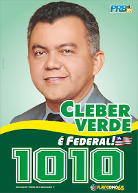 Para federal vote em Cleber Verde 1010