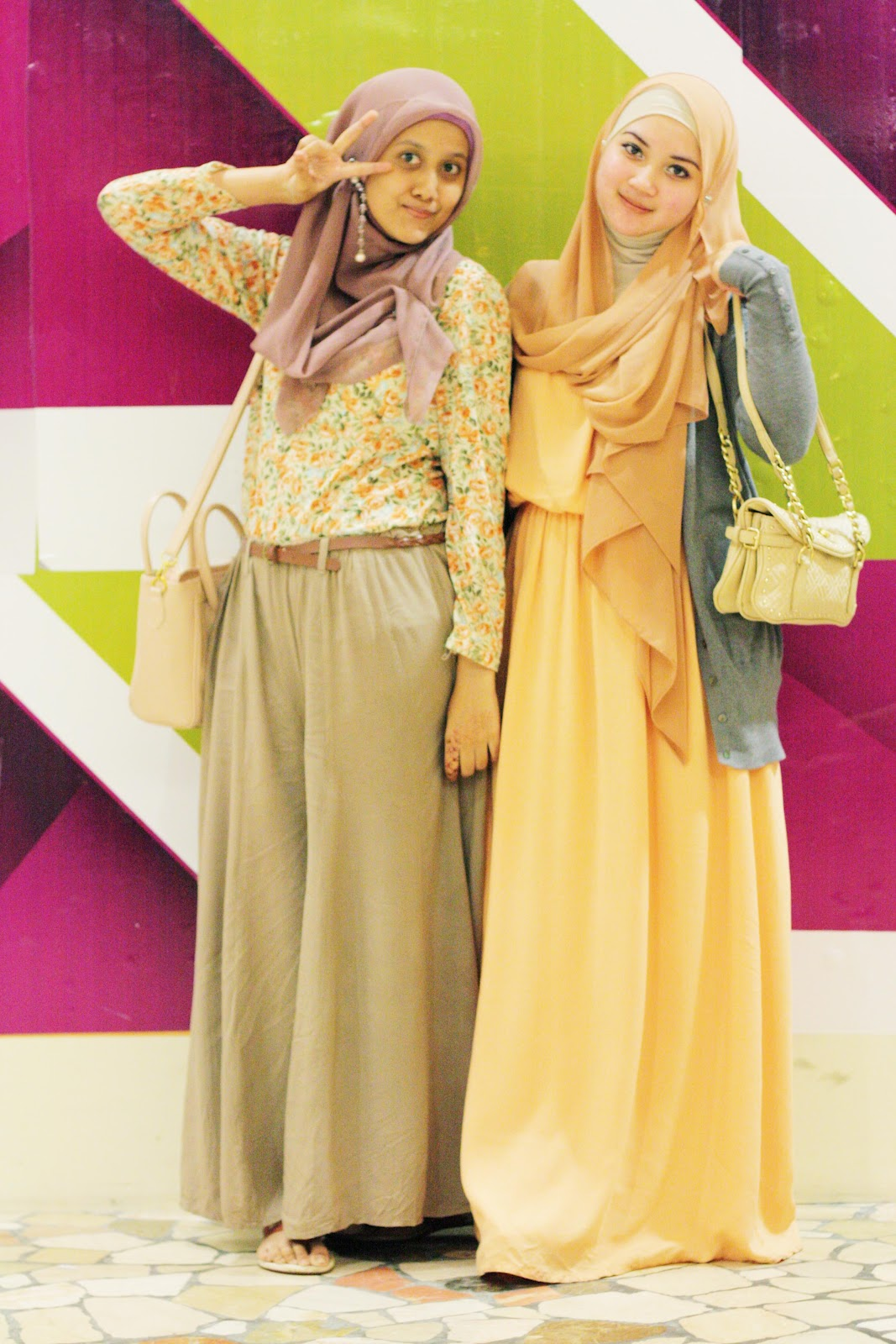 Thousand Kisses From Bestfriends Tutorial Hijab Zaskia
