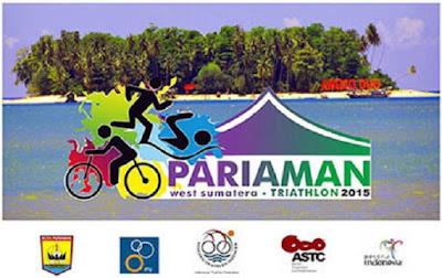 Pariaman ASTC Triathlon Asian Cup 2015, lomba lari triathlon padang sumatra barat pantai gandoriah
