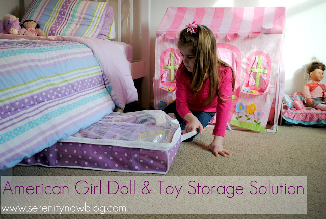 Serenity Now American Girl Doll And Toy Storage Solution