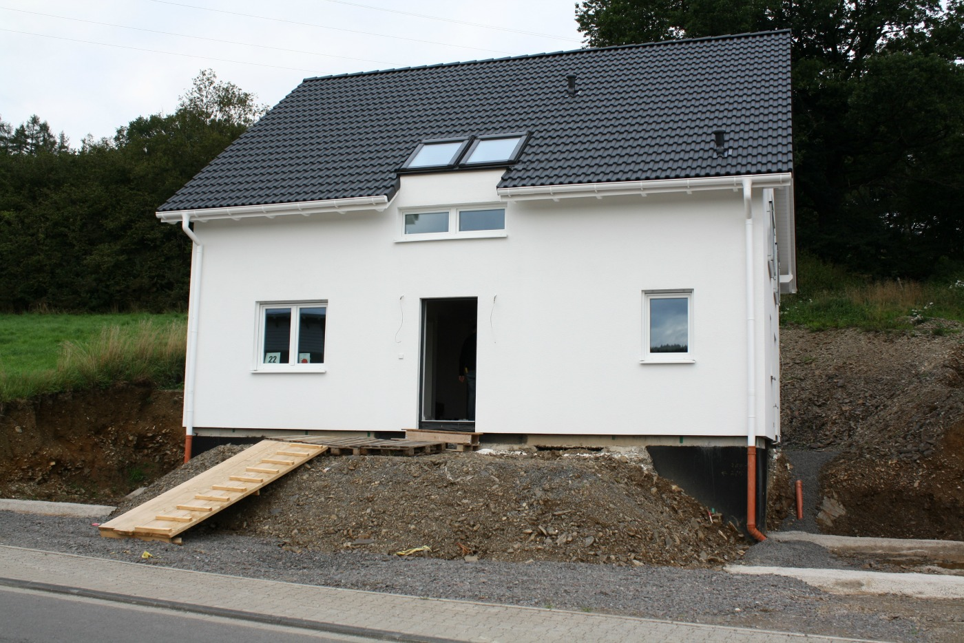 bautagebuch dan wood house schnappsch sse. Black Bedroom Furniture Sets. Home Design Ideas