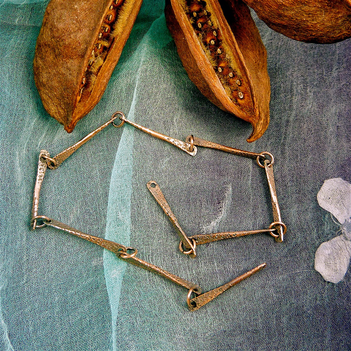 Sharilyn miller free tutorial bone links bone links are easy to make wire links that quickly assemble into an elegant necklace chain i like using heavy gauge wire for my linksanything from baditri Choice Image