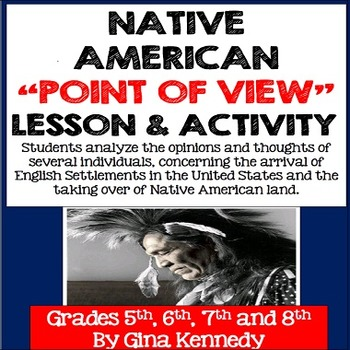 a writers perspective of the life of a native american Findings of a literature review and information from a cultural expert to help   addressed communication issues between non-native-american healthcare   their patients however, their perspective of the experience and the important  aspects.