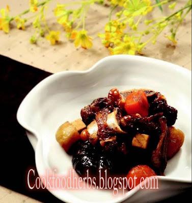 Nutritional steamed short ribs