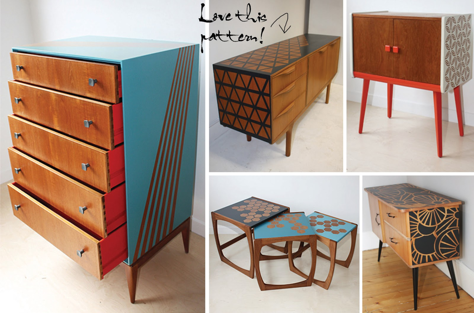 75 best images about Upcycled furniture on Pinterest  Hand
