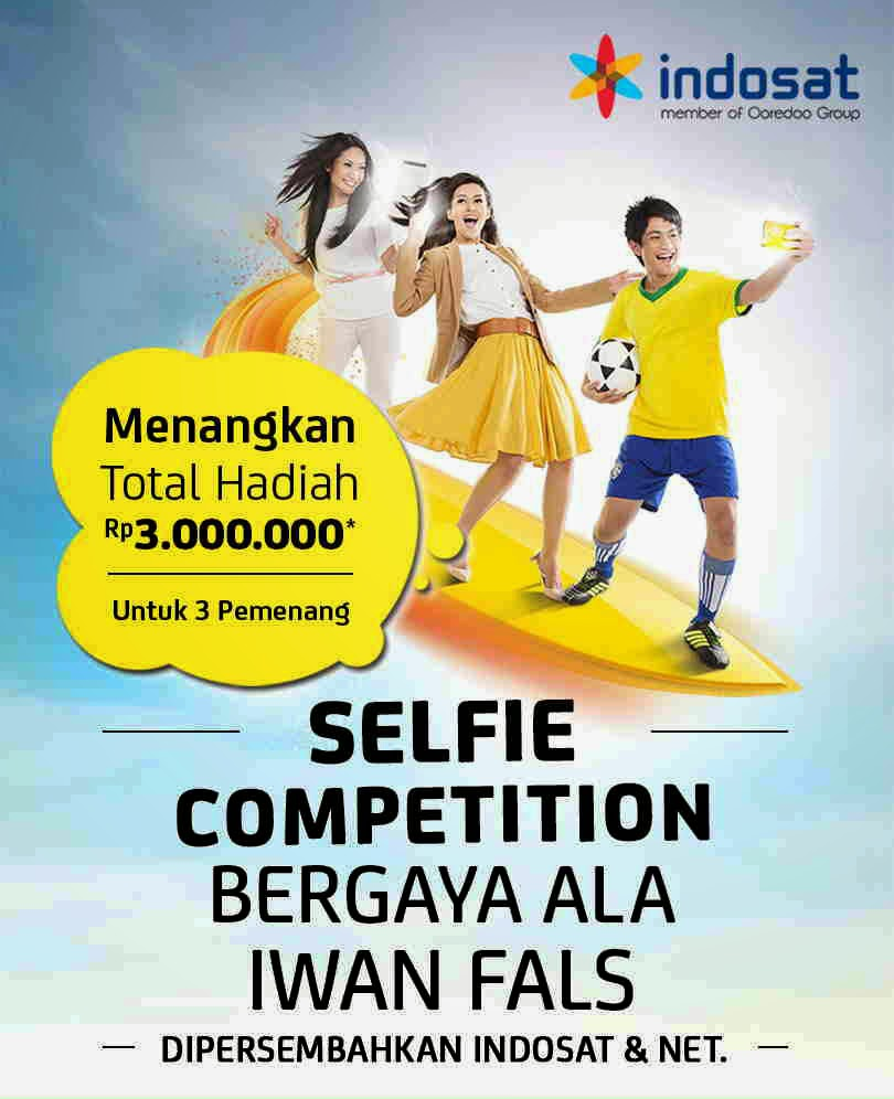 SELFIE COMPETITION MIRIP IWAN FALS