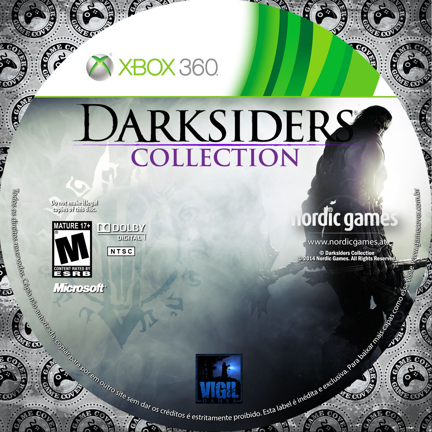 Label Darksiders Collection Xbox 360 [Exclusiva]