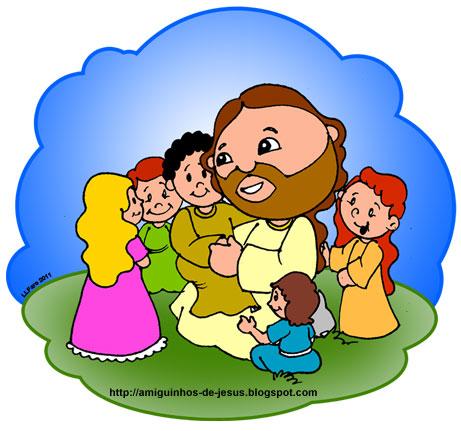 jesus e as crianças amiguinhos de deus