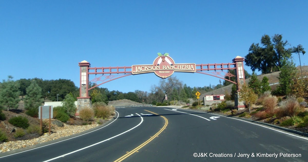 Along The Way With J Amp K Jackson Rancheria Casino Rv Park