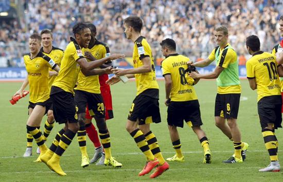 Hannover 2 x 4 Borussia Dortmund - Campeonato Alemão(Bundesliga) 2015/16