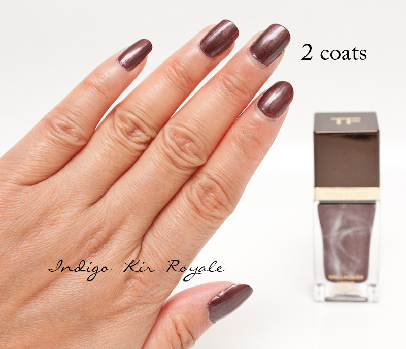 NOTD: TOM FORD NAIL LACQUER IN \'MINX\' (21) - IT\'S A DELECTABLE, RICH ...