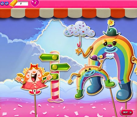 Candy Crush Saga 876-890ending