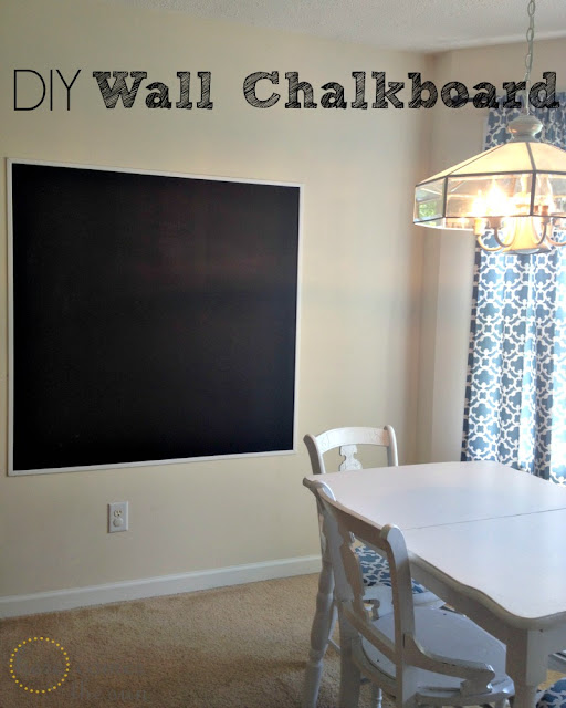DIY Statement Piece : Chalkboard Wall