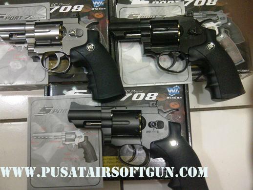 airsoft gun revolver