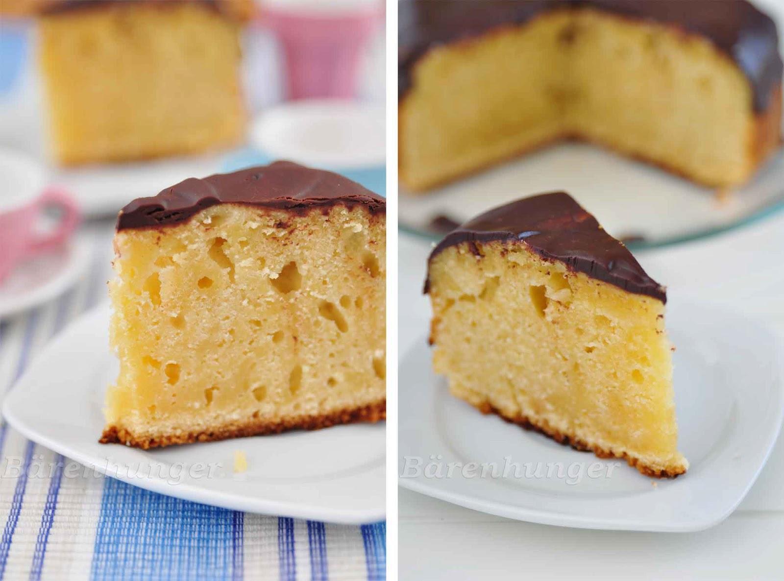 Kuchen Mit Zweierlei Schokolade Barenhunger