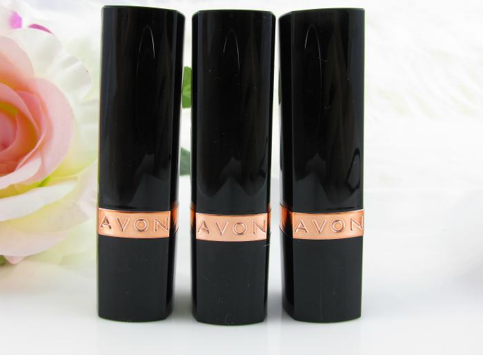 AVON Ultra Color Lipstick - Verpackung Rose Gold Schwarz