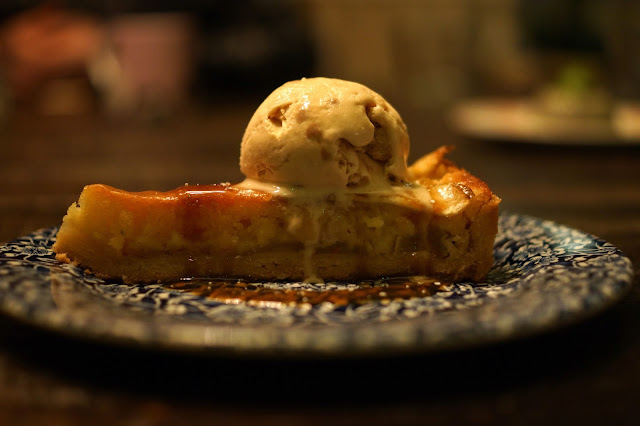 Hello Freckles The Botanist Festive Menu Review Apple and Almond Tart