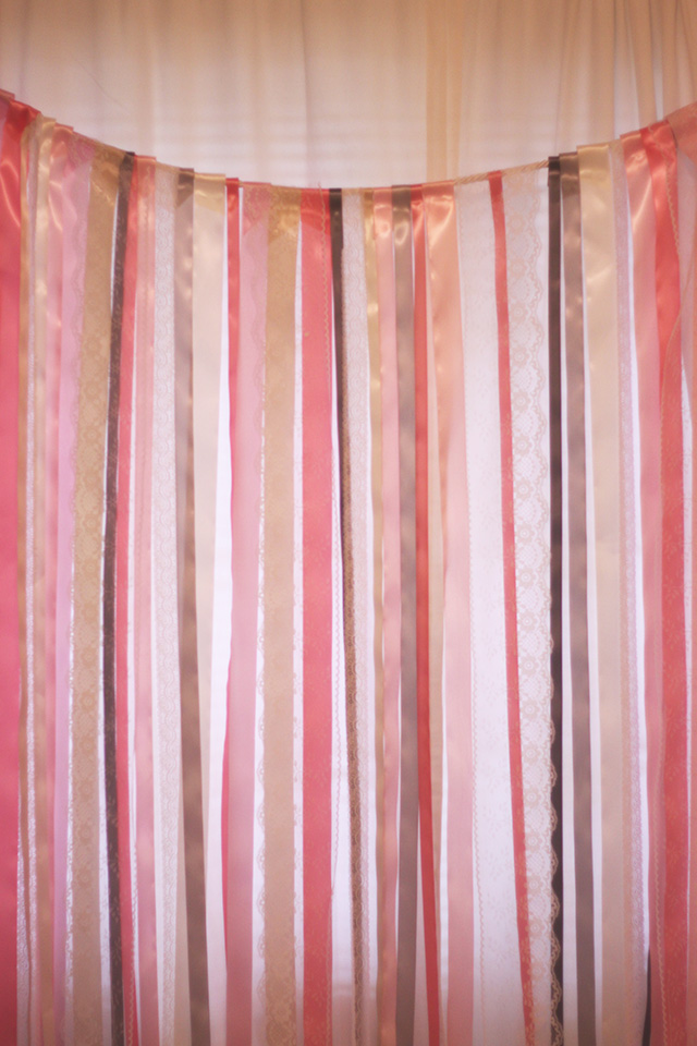 Diy Ribbon Photo Booth Backdrop Michaela Noelle Designs