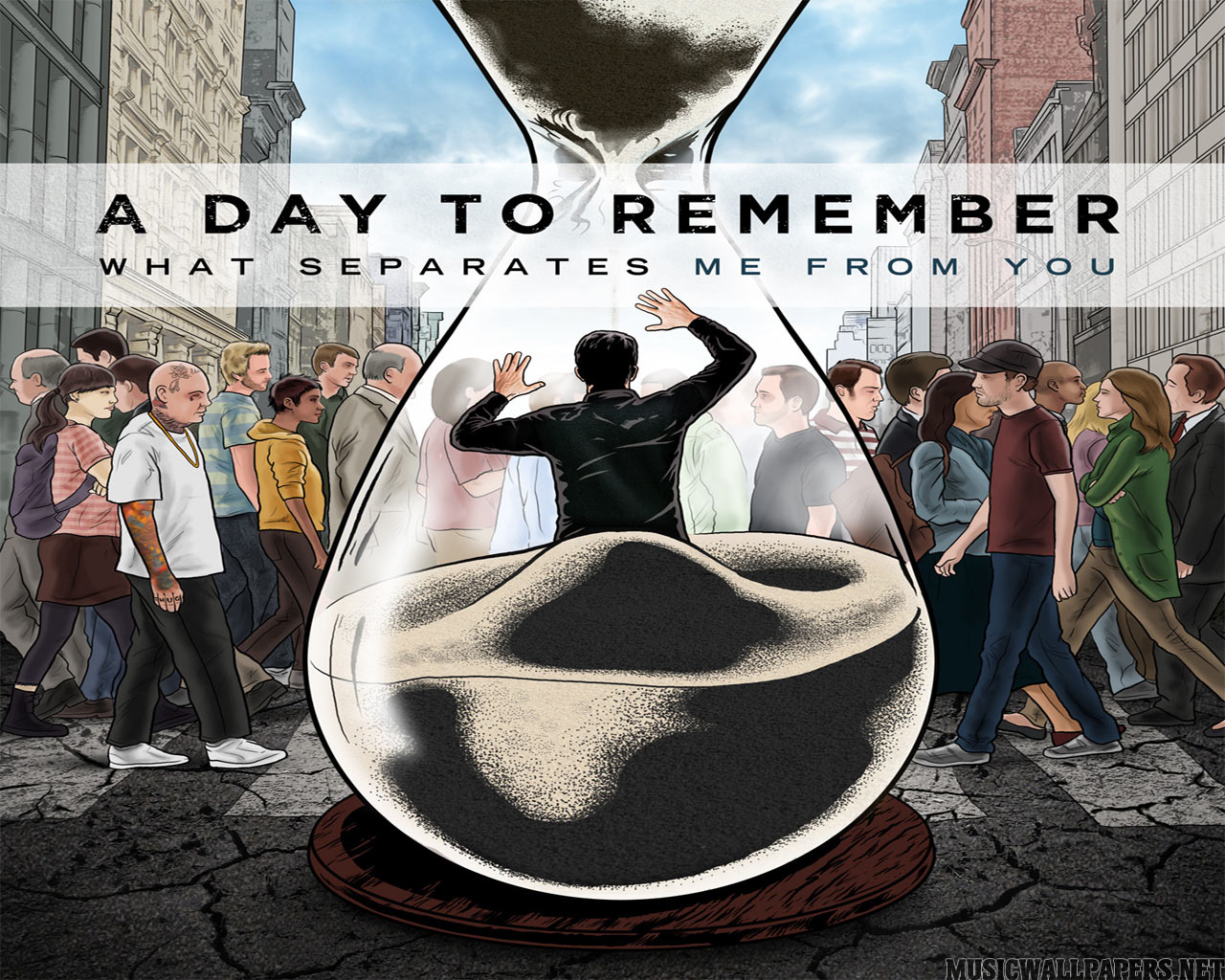 a day to remember wallpaper all about music