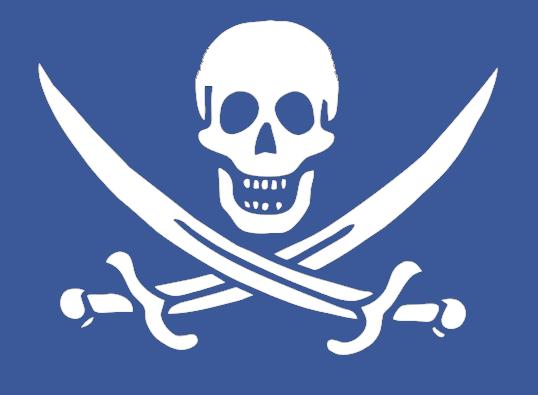 Cuidado con los piratas de las redes sociales