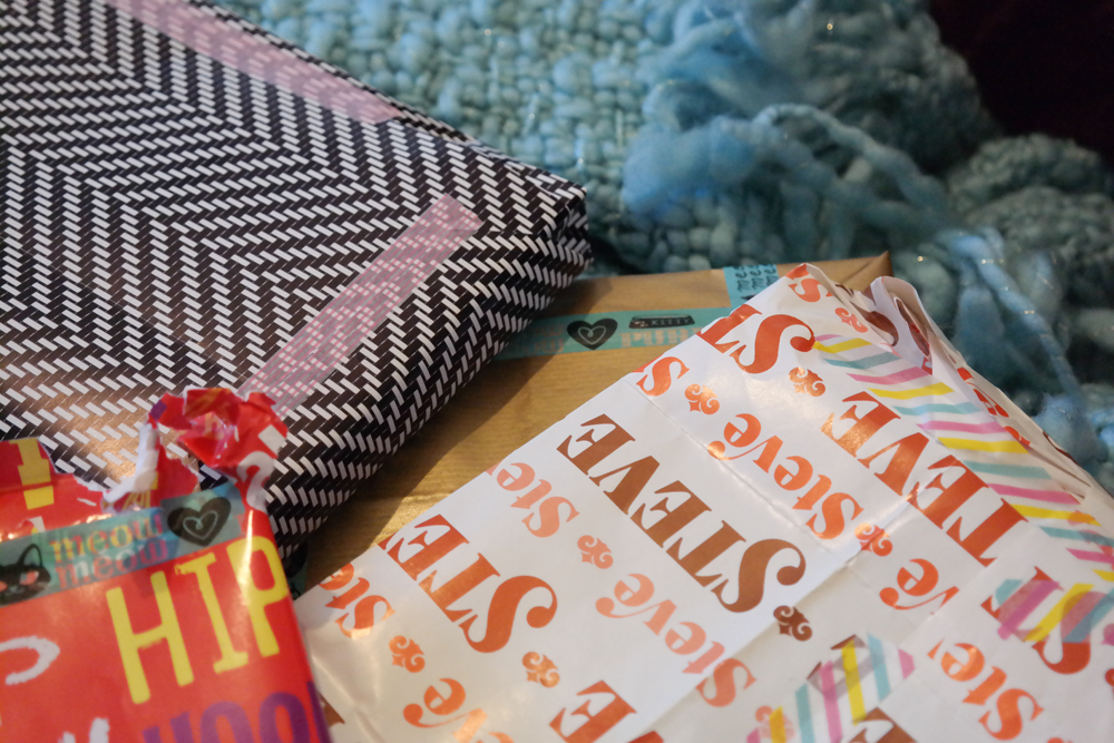 Lots of wrapping paper