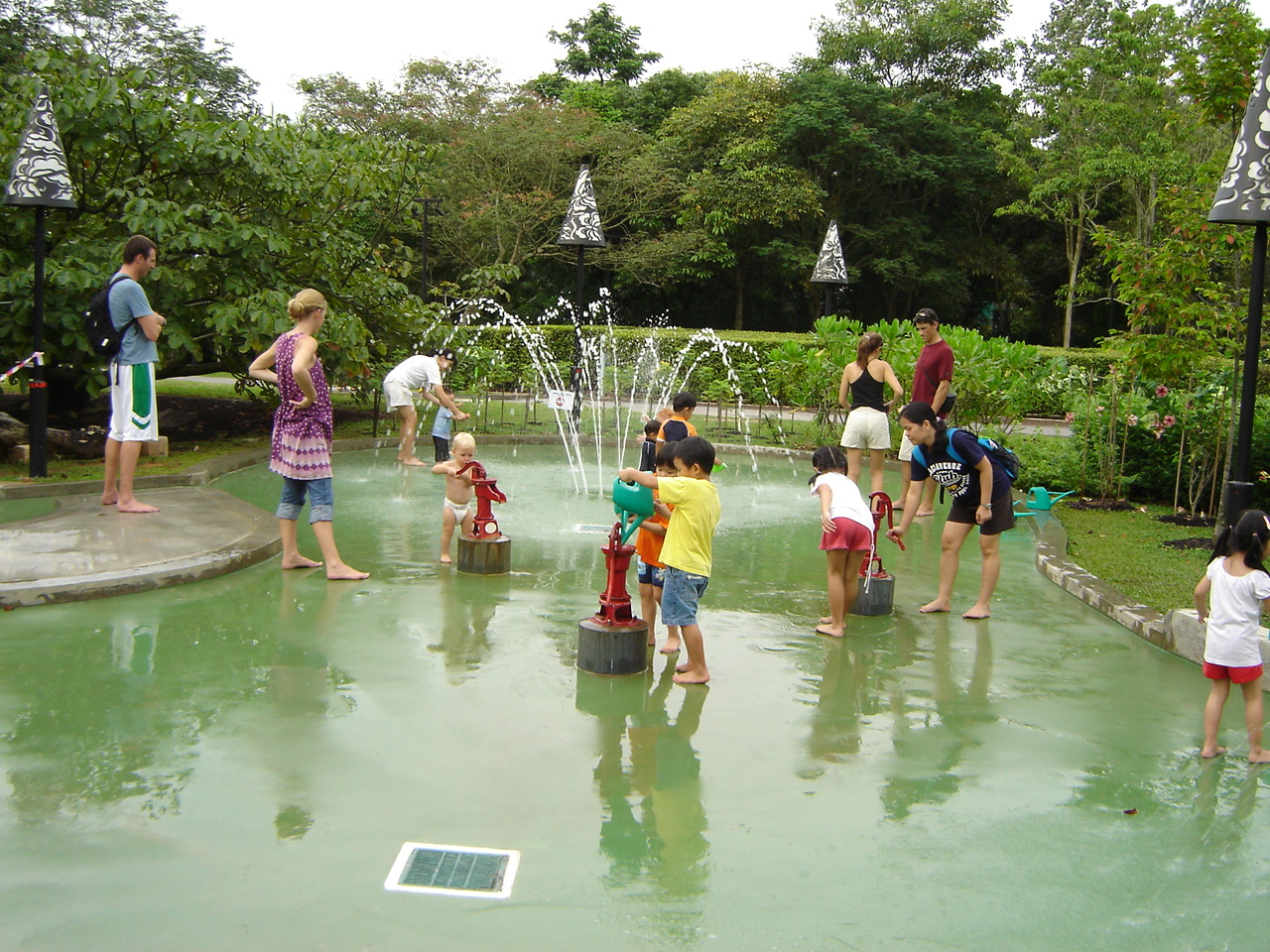 Water Geyser Patio Fundraiser Alta Vista Gardens Blog