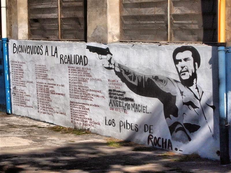 Graffiti en La Boca