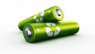 Pilas, Ecológicas, Verdes, Agua, Recargables