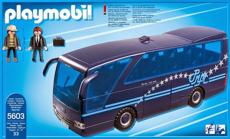 Libros y juguetes 1demagiaxfa juguetes playmobil city - Autocar playmobil ...