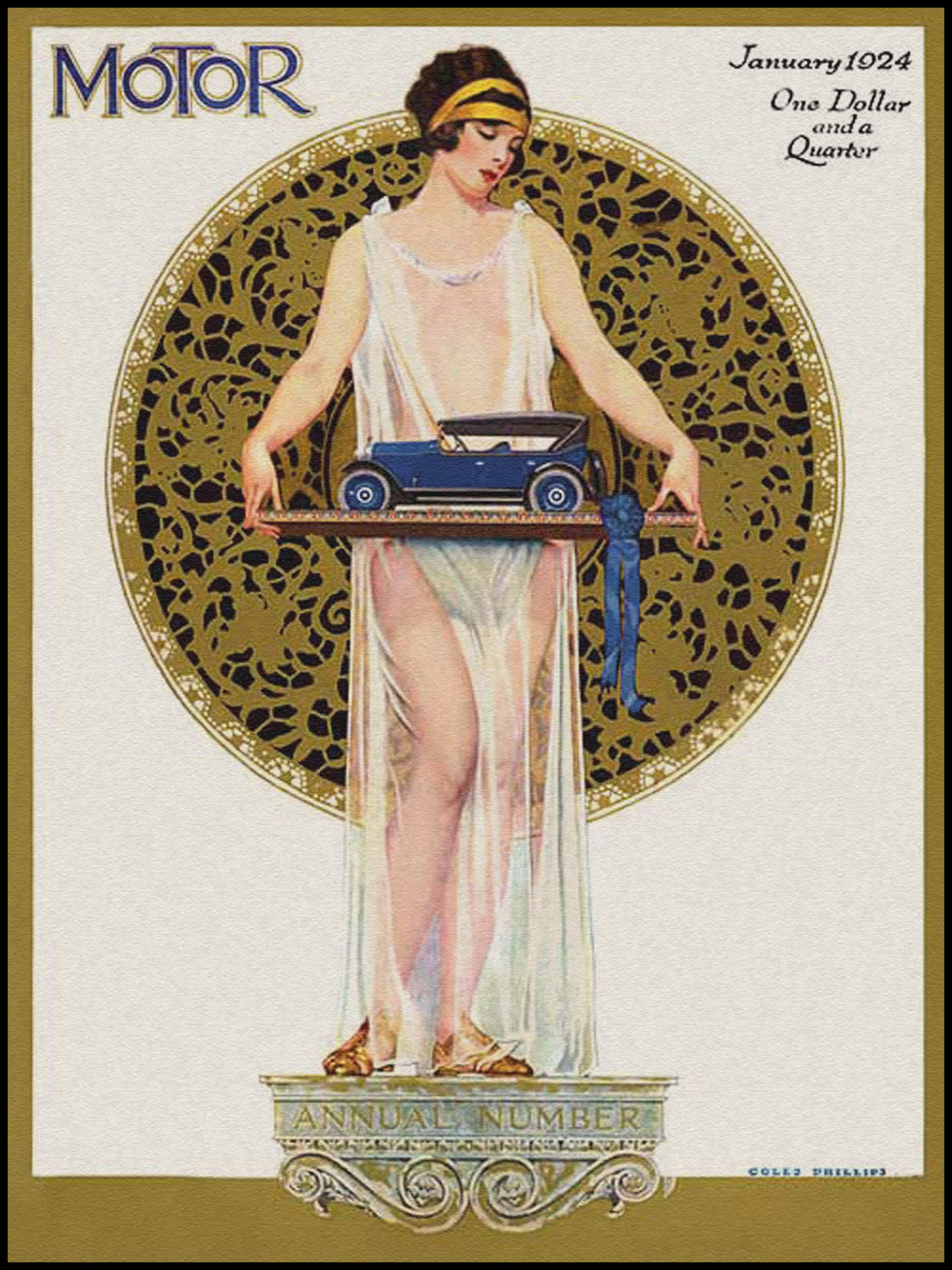 VINTAGE BLOG: Motor : Coles Phillips 1924