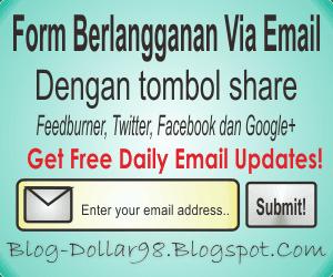 Membuat Form Berlangganan Via Email di Bawah Postingan dengan Style Unik