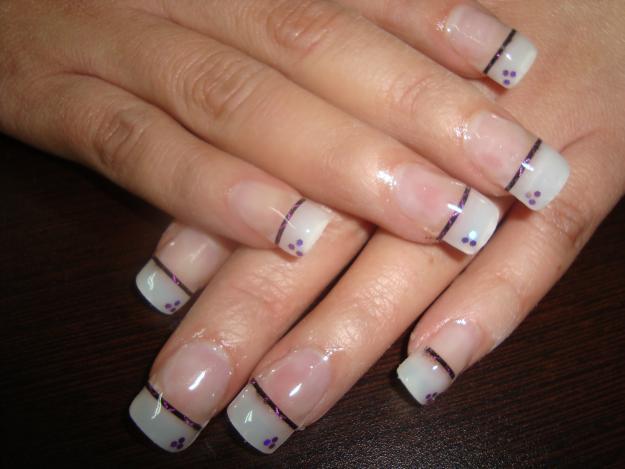 Decoracion de uñas corazon / Heart nail art tutorial - YouTube