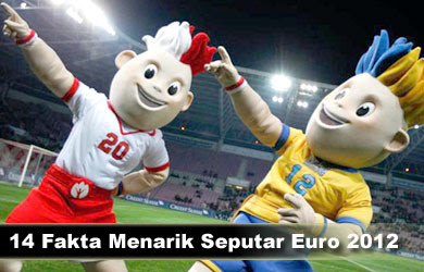 14 Fakta Unik Seputar EURO 2012